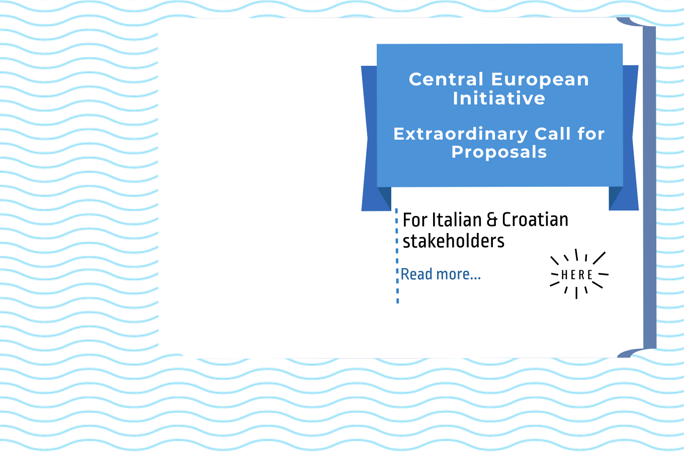 CEI Extraordinary Call for Proposals 2020