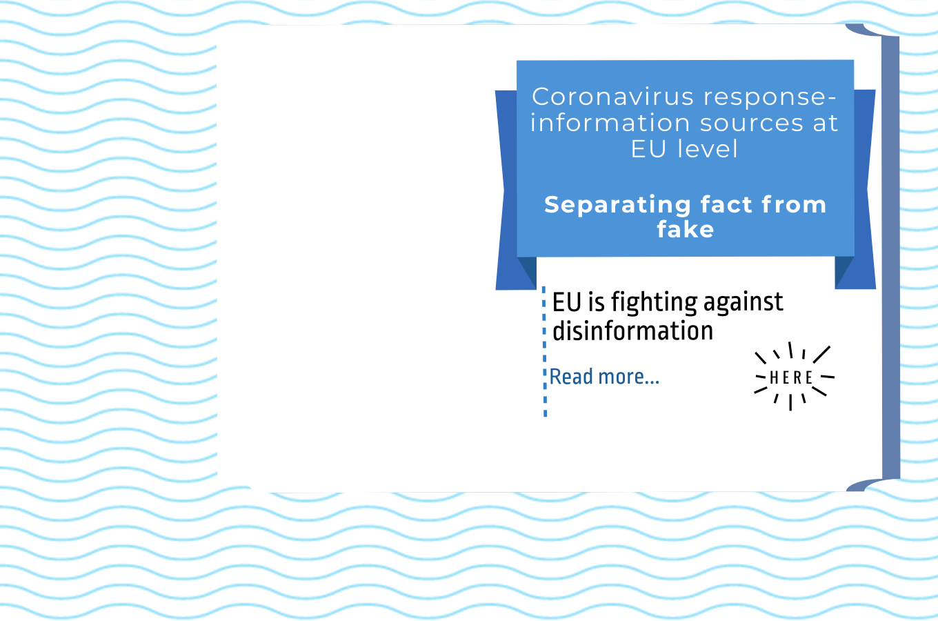 EU is fighting against disinformation
