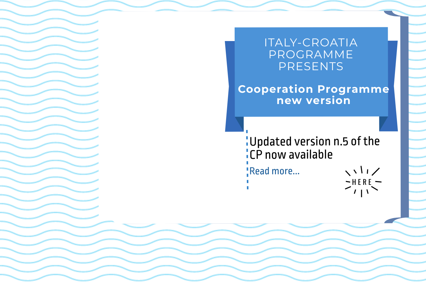 EC approves the version n. 5 of the Italy-Croatia Cooperation Programme