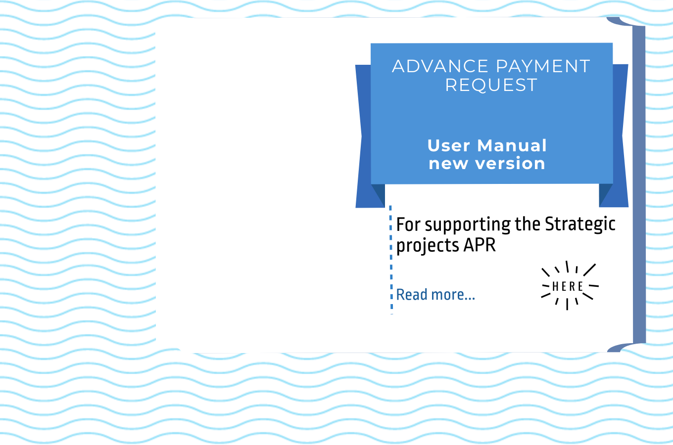 Advance Payment Request - User Manual