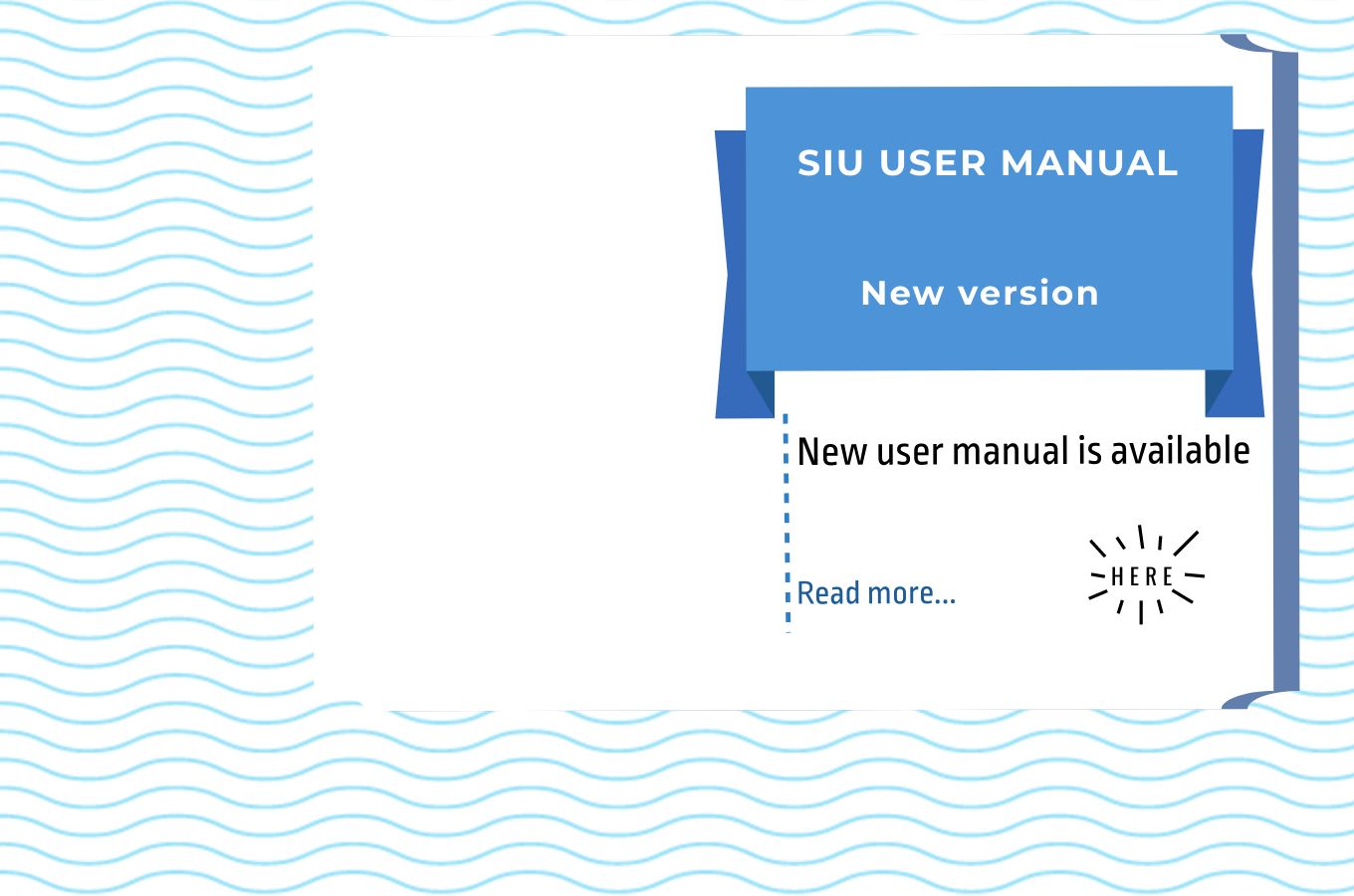 SIU User Manual: new version