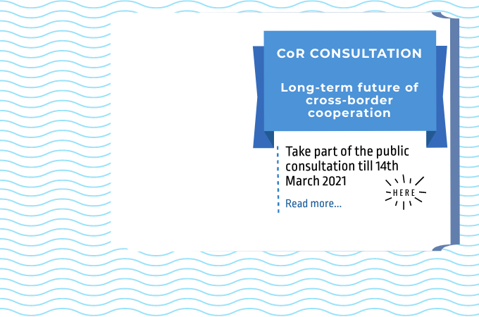 CoR Public Consultation on the long-term future of cross-border cooperation