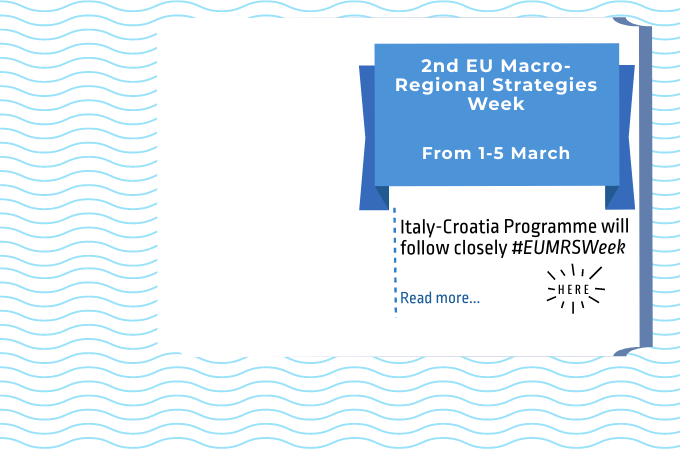 Italy-Croatia Programme will follow closely #EUMRSWeek