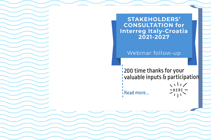 Stakeholders' consultations for the 2021-2027 Programme: follow up
