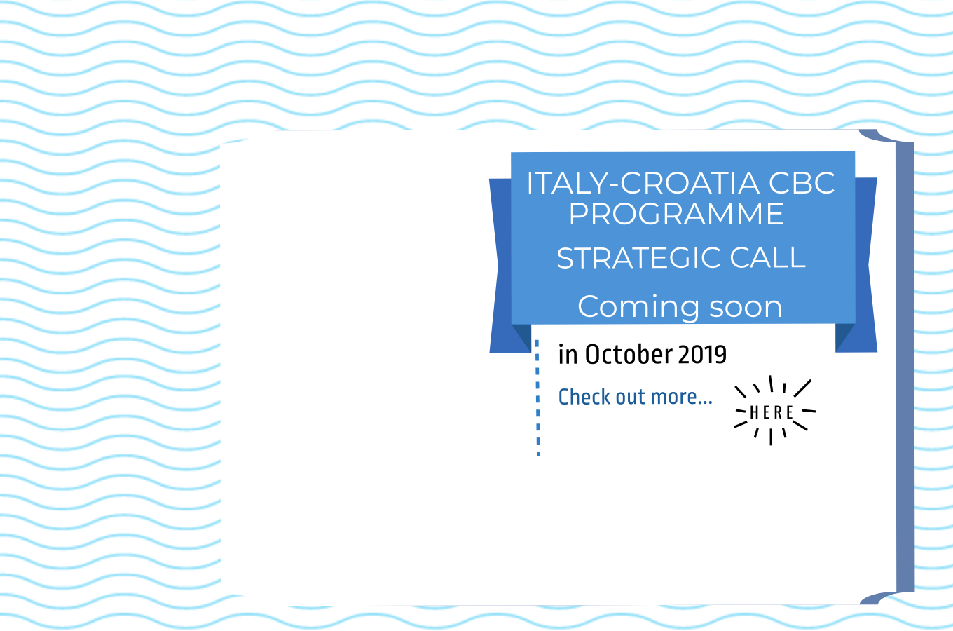 Pre-call announcement for Strategic Projects of the Interreg Italy-Croatia Programme