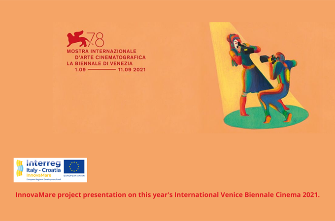 The strategic project InnovaMare was presented at the Venice Biennale Cinema