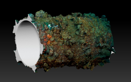 Underwater photogrammetry at the Paguro wreck