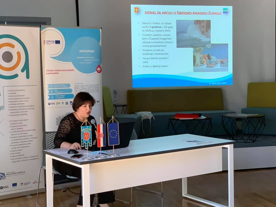 The final workshop of the Adriadapt project