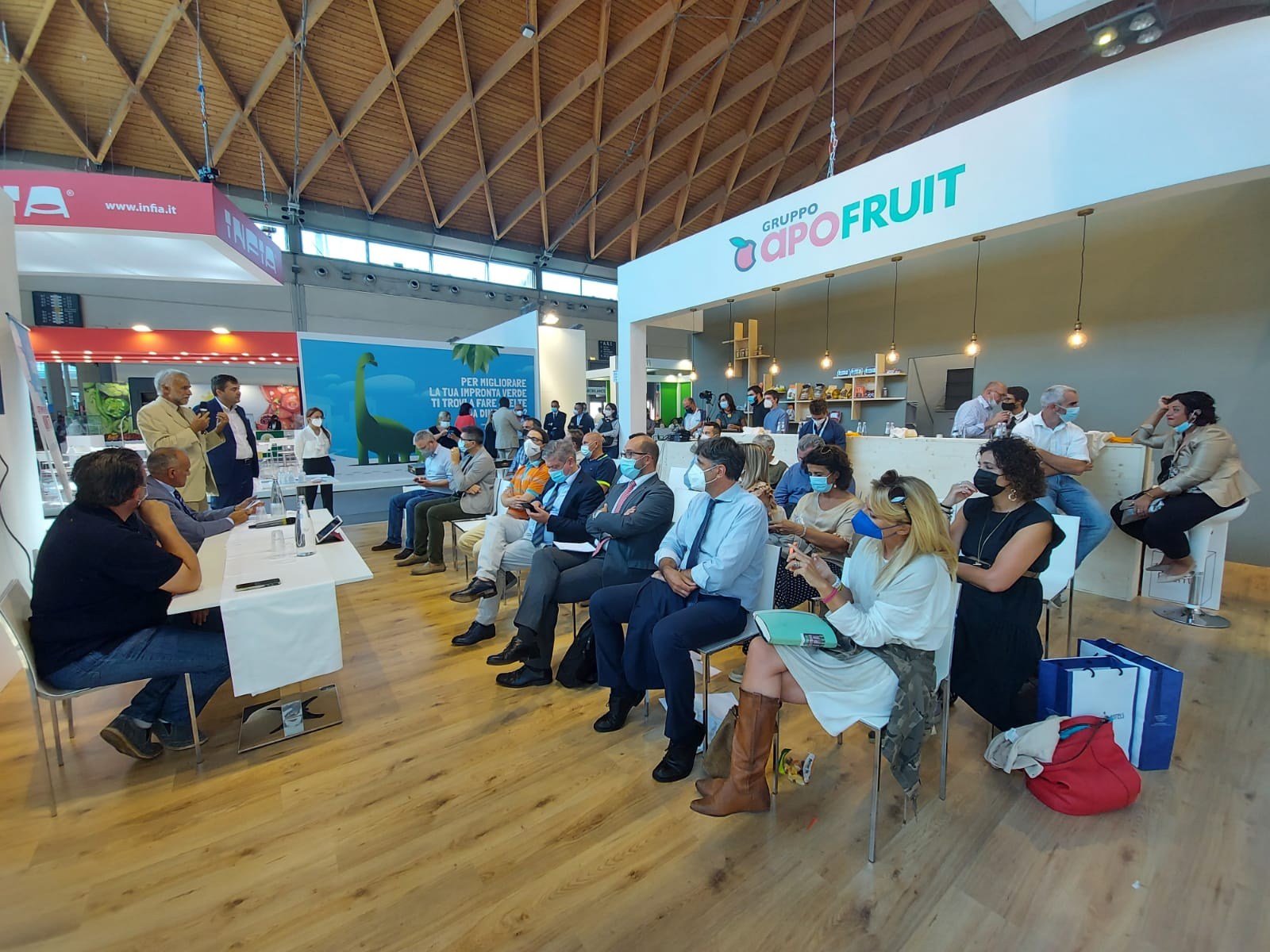 The GECO2 project presented at Apofruit's stand in Macfrut