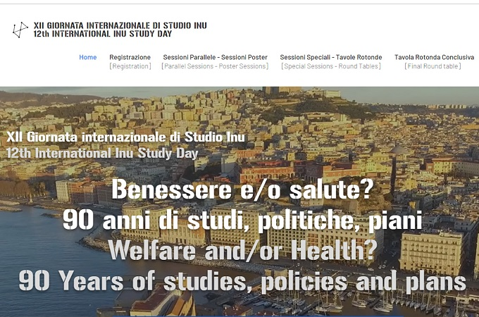 "Joint_SECAP is waiting for you at 12th International INU Study Day ""Welfare and/or Health? 90 years of studies, policies and plans"""