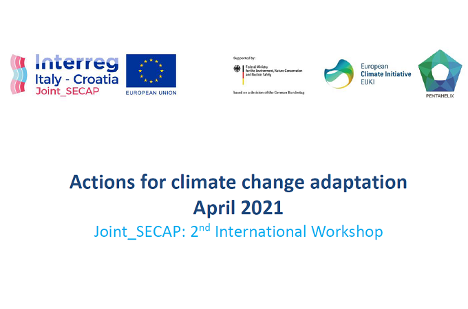 2nd International Workshop of Joint_SECAP project: Actions for climate change adaptation