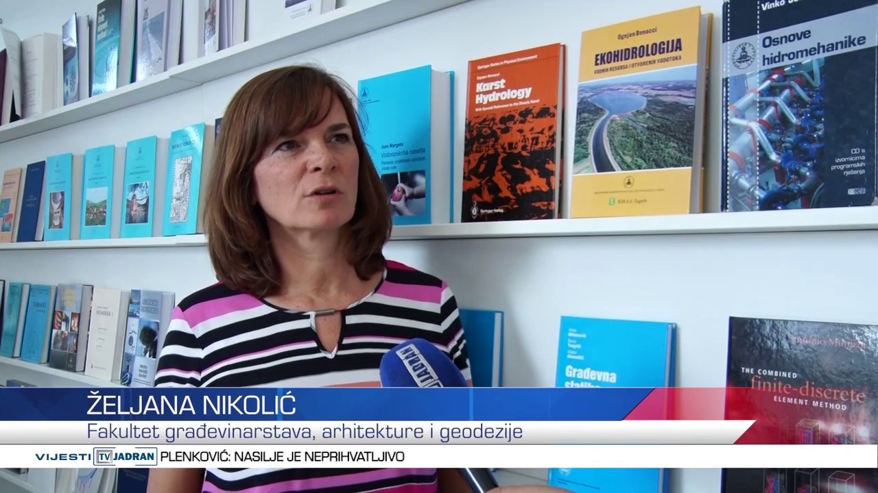 ŽELIANA NIKOLIĆ, RESEARCHER OF THE PMO-GATE PROJECT, INTERVIEWED BY REGIONAL CROATIAN TELEVISION