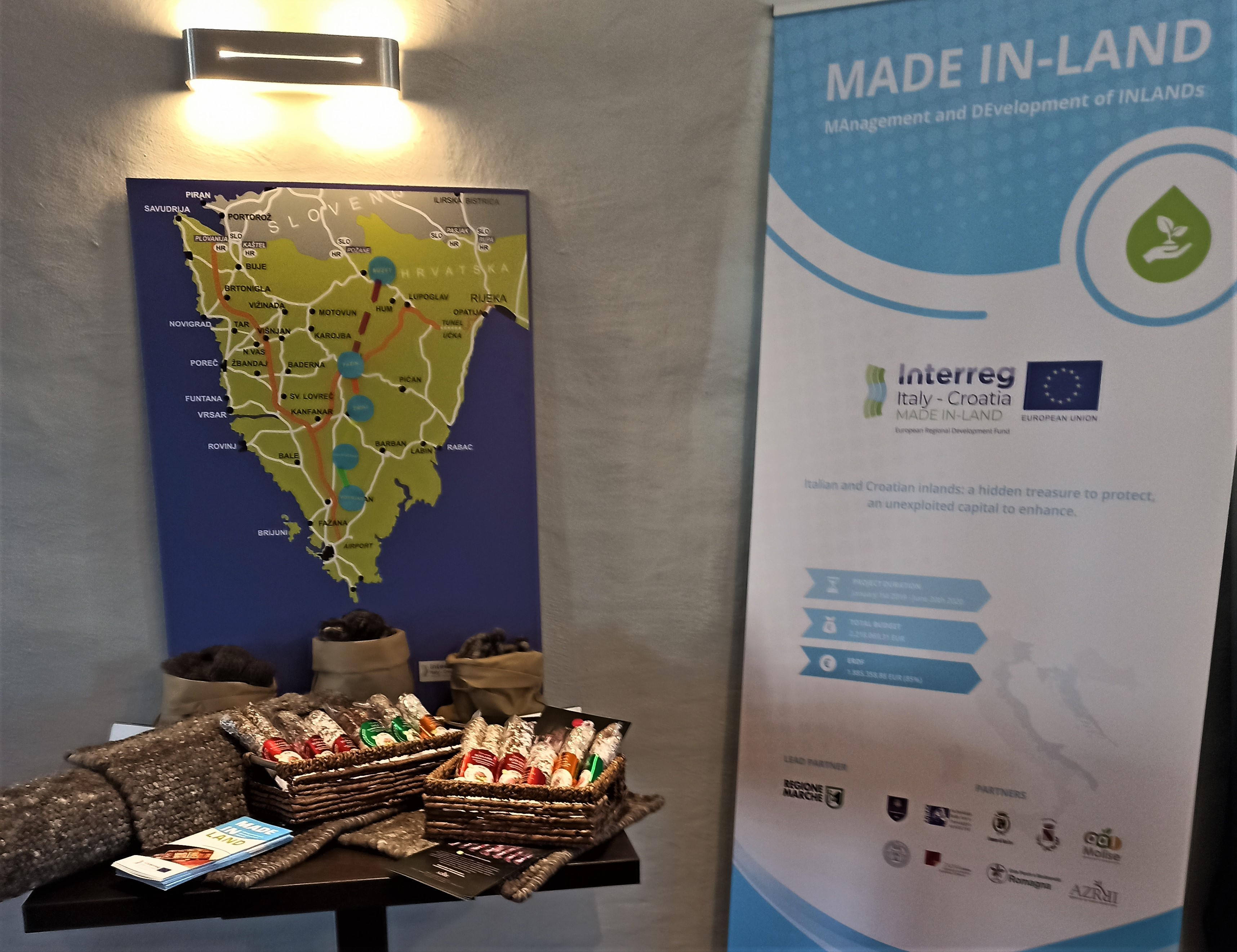 MADE IN-LAND Regional event in Istria