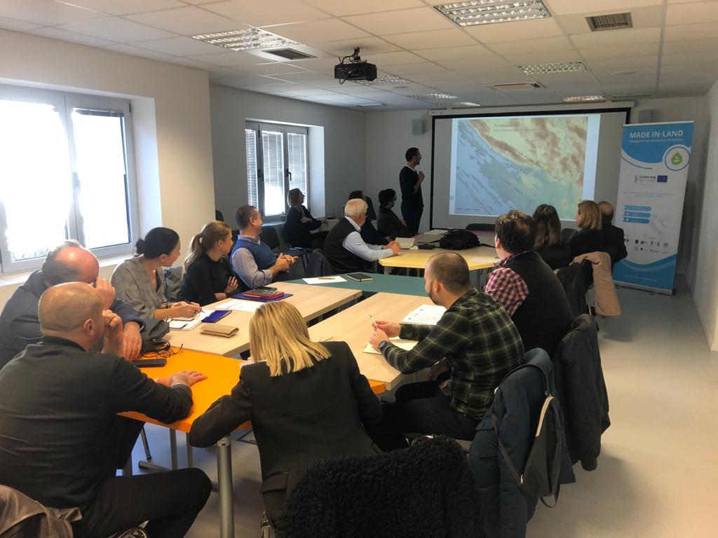 MADE IN-LAND Stakeholders workshop in Zadar for presentation of the project Strategy