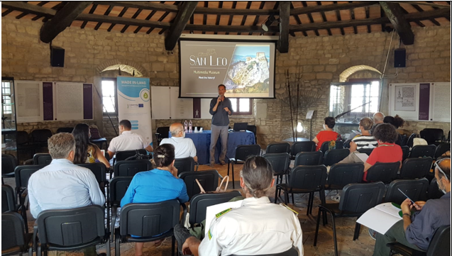 MADE IN-LAND project: Local Committee Meeting in San Leo