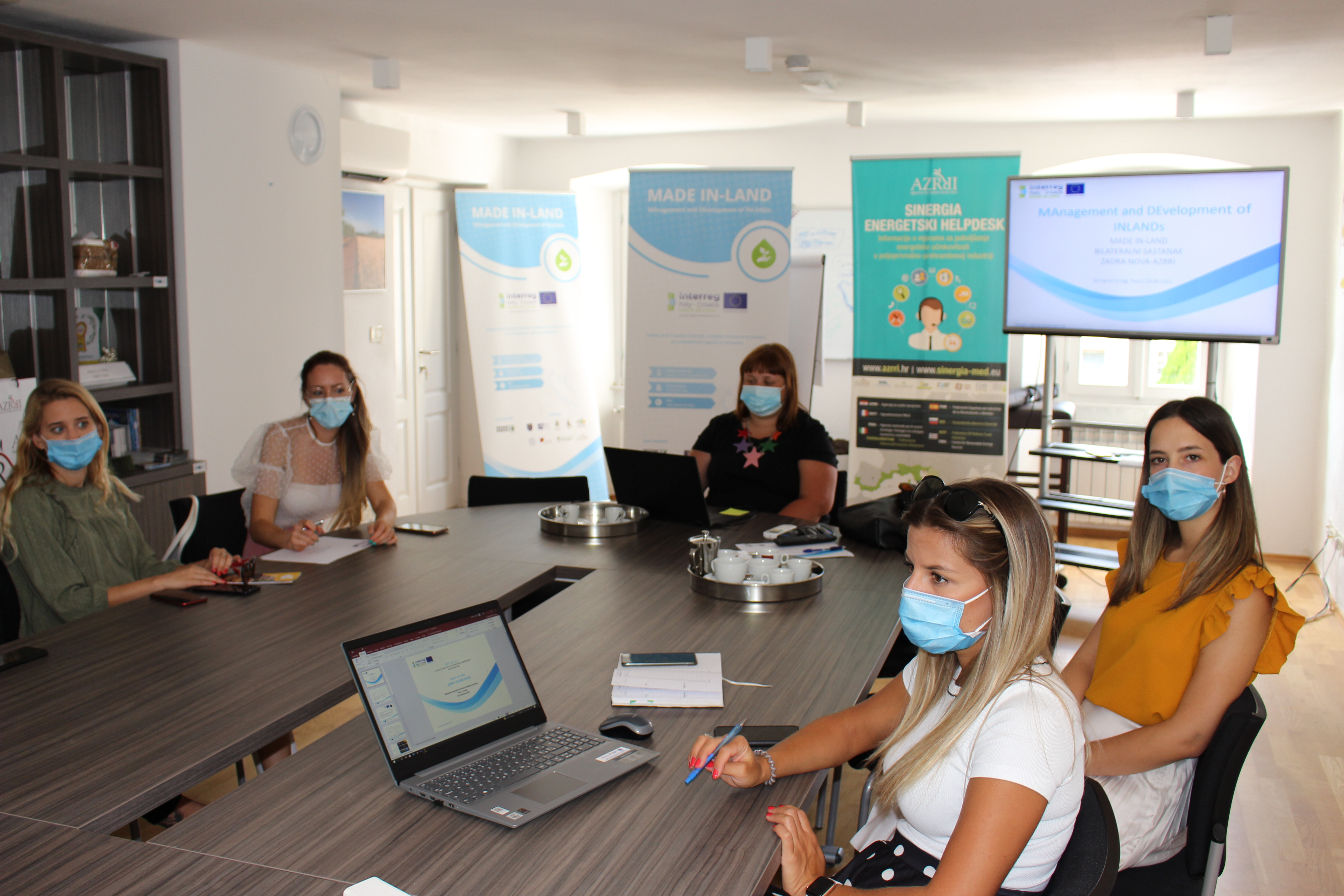 Bilateral meeting of Croatian project partners, August 24 and 25, 2021