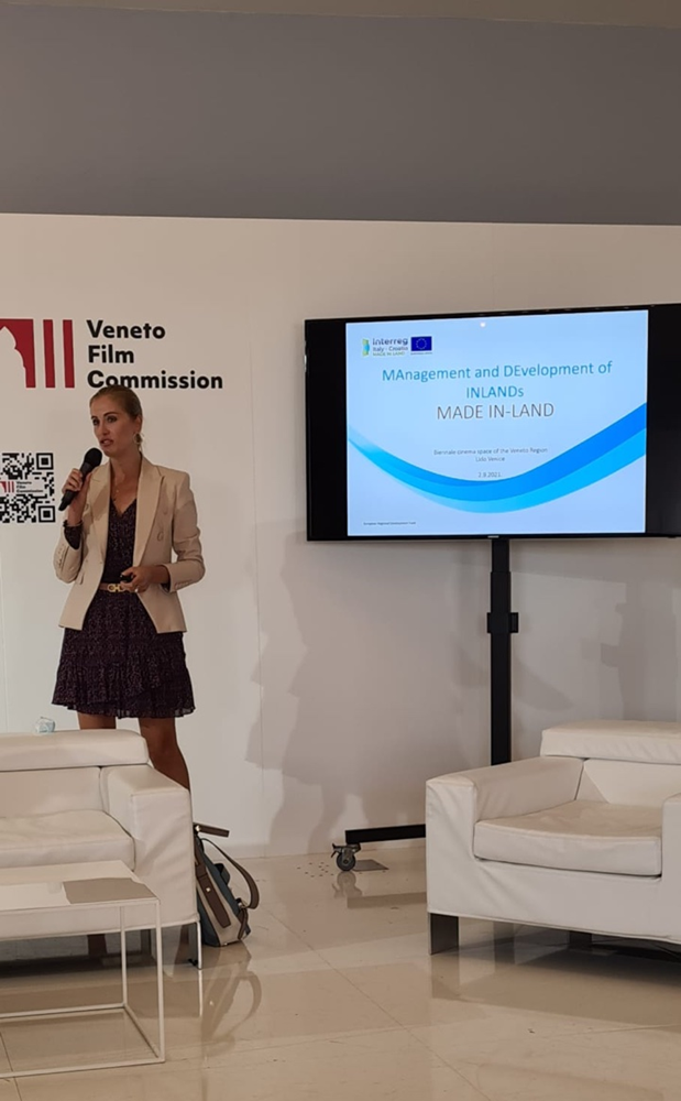AZRRI presented the MADE IN-LAND project at the famous Venetian Mostra