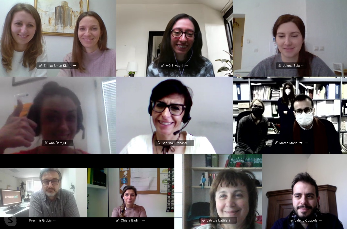 5th project meeting, online