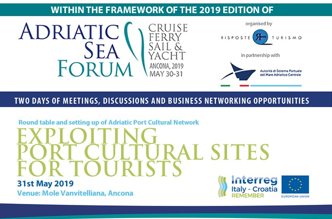 """REMEMBER project event """"EXPLOITING PORT CULTURAL SITES FOR TOURISTS"""""""