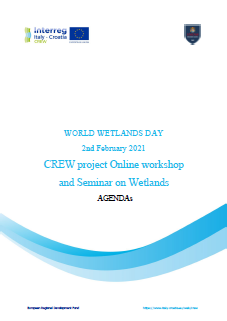 CREW project Online workshop and Seminar on Wetlands