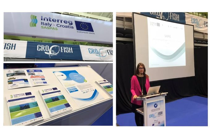 Interreg SASPAS project at the CroFish fair in Poreč, Croatia