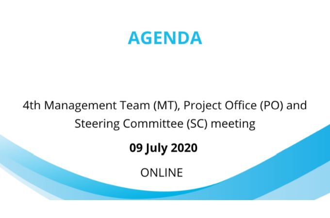 4th Managment Team (MT), Project Office (PO) and Steering Committee (SC) meeting