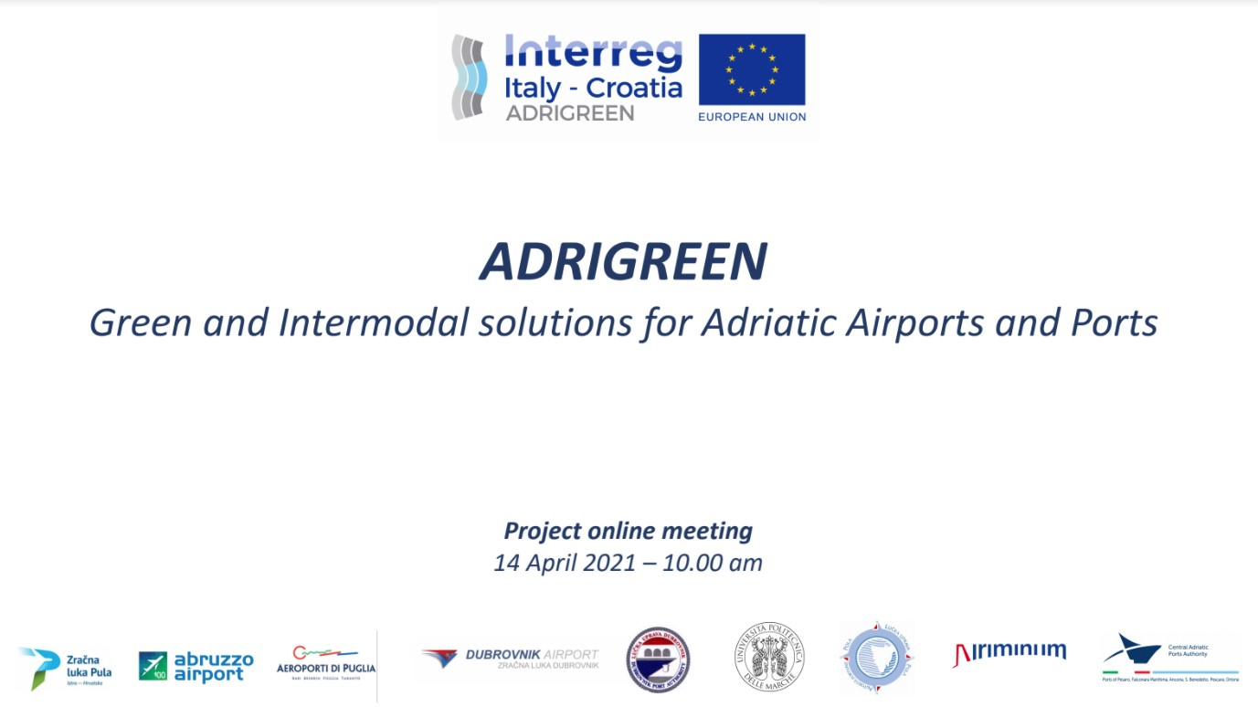 4th ADRIGREEN Project meeting