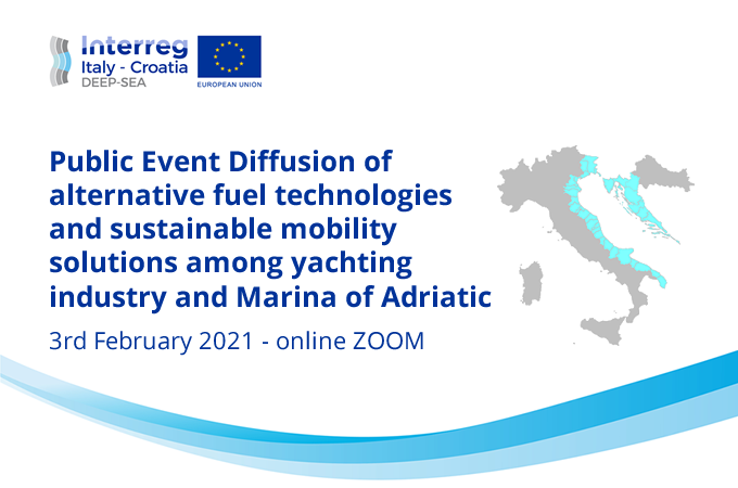 Alternative fuel technologies and sustainable mobility solutions among yachting industry and Marina of Adriatic