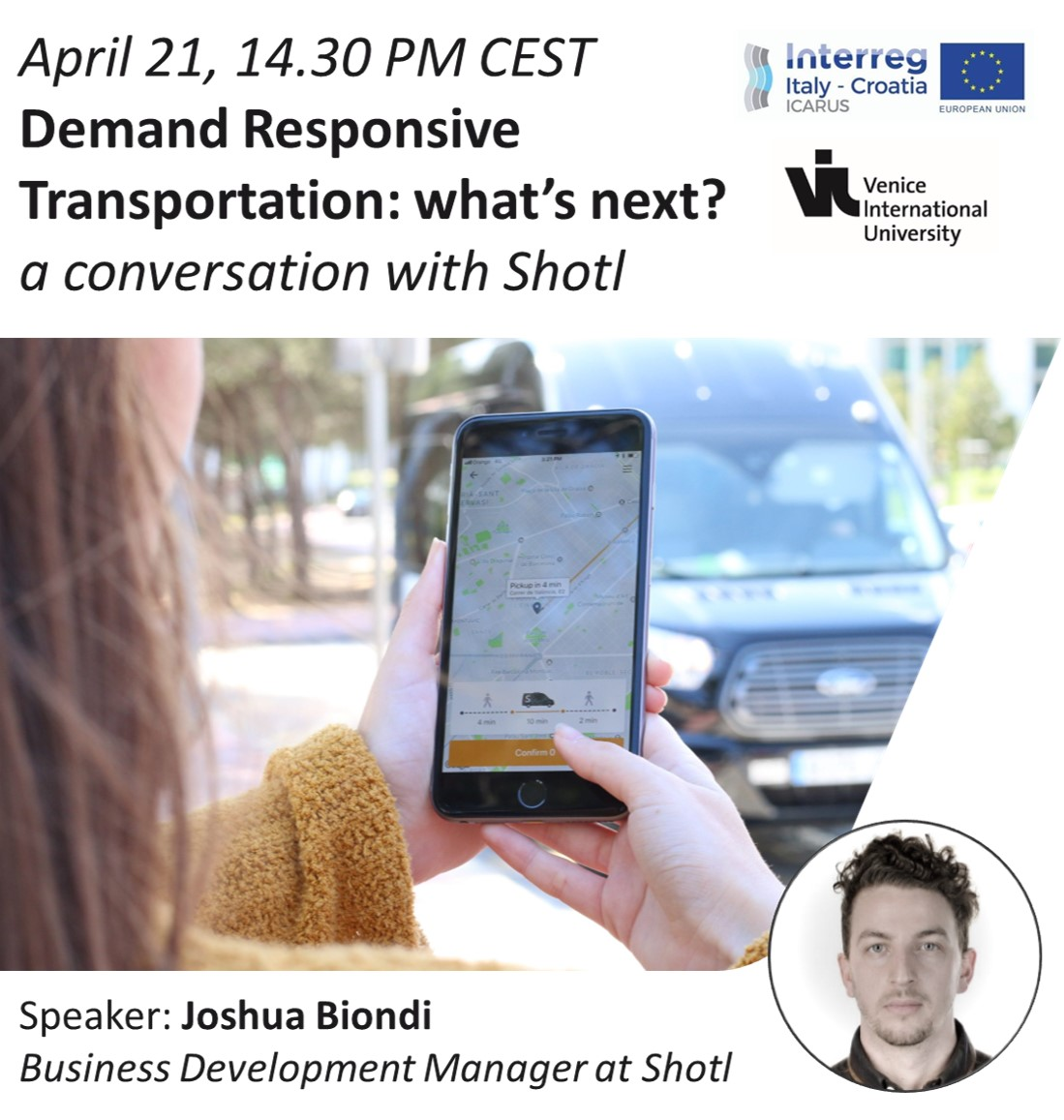 Demand Responsive Transportation: what's next? a conversation with Shotl