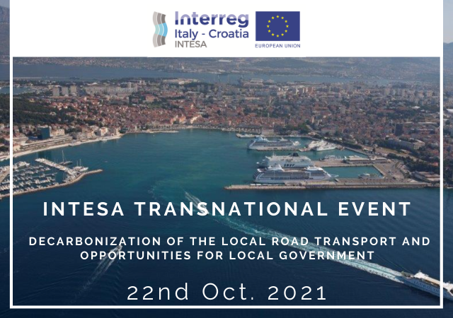 INTESA Project TRANSNATIONAL EVENT – 22nd October 2021