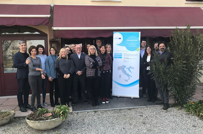 INNOCULTOUR | PROJECT MEETING IN OSTELLATO